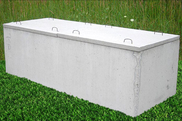2 Piece Thin Cover Grave Box