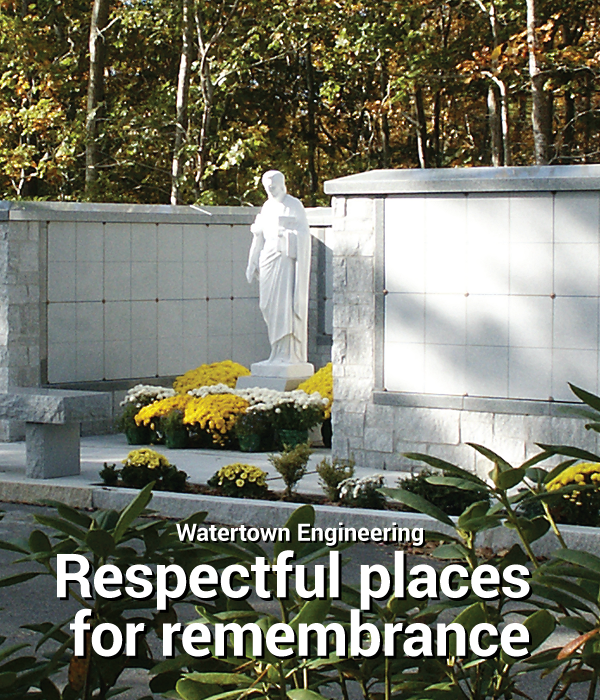 Watertown Engineering Respectful places for remembrance